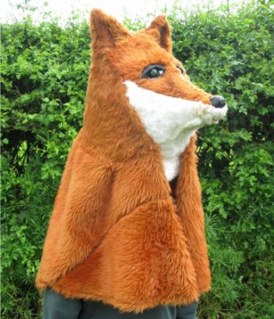 Fox headdress
