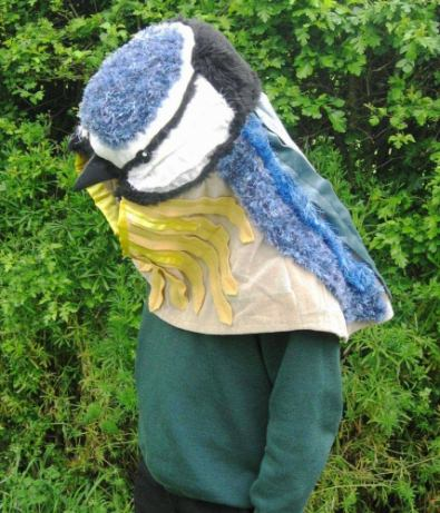 Bluetit headdress